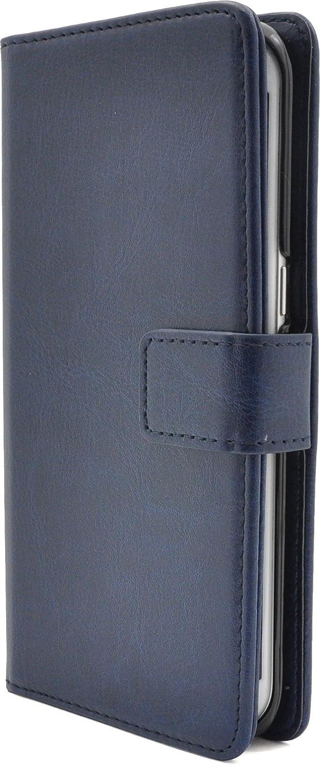 拳アリダイバーPLATA Galaxy S7 edge SC-02H / SCV33 ケース 手帳型 カラー レザー スタンド ケース ポーチ ギャラクシー S7 エッジ 手帳 カバー 【 ブルー 青 あお blue 】 DSC02H-77BL
