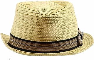 Dorfman Pacific Men s Braided Diamond Crown Trilby Hat (Large Extra Large 0e5ba12c6d73