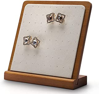 Jewellery Boxes Solid Wood Stud Earrings Window Jewellery Display Stud Storage Rack Vertical Earring Display Stand Jewelry Props Creative Ornaments Jewellery Boxes & Organisers