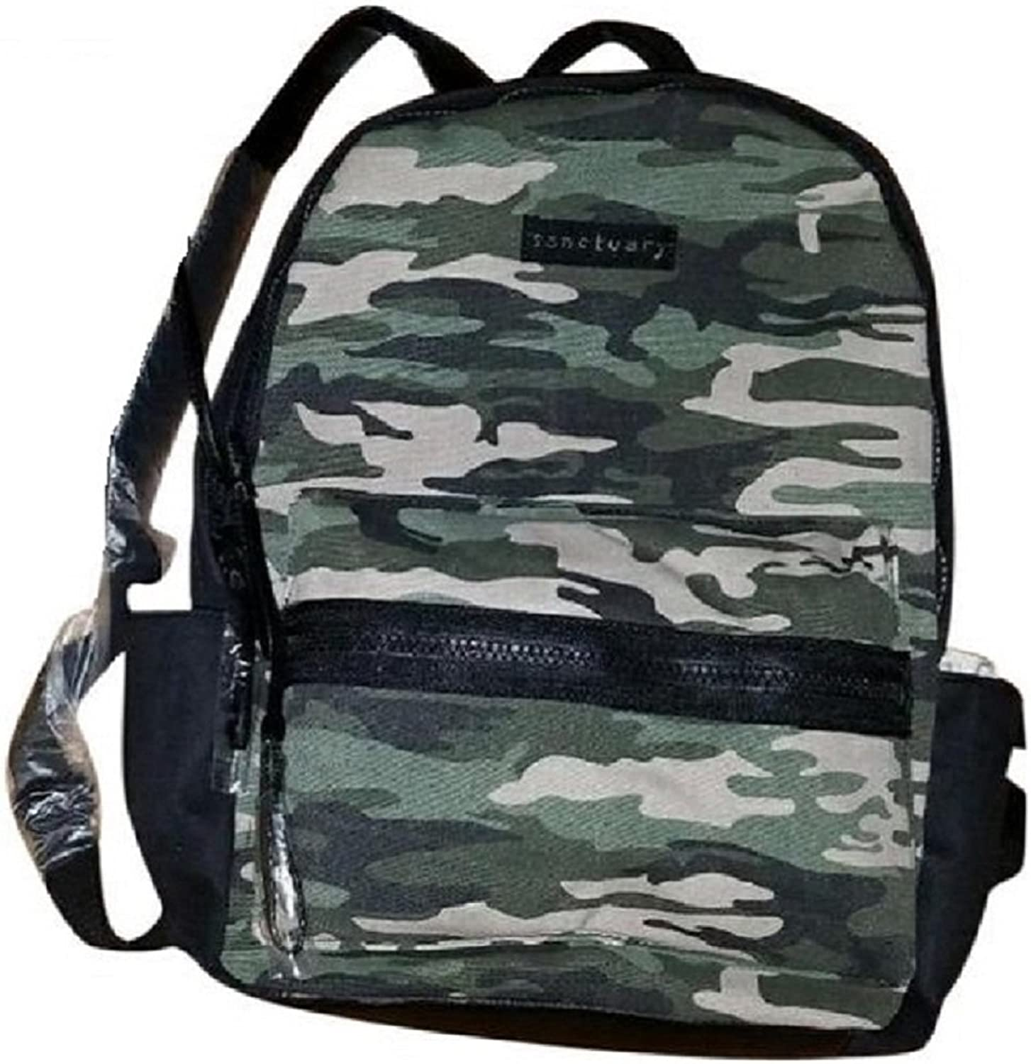 Sanctuary Handbags Downtown Backpack Camo Black