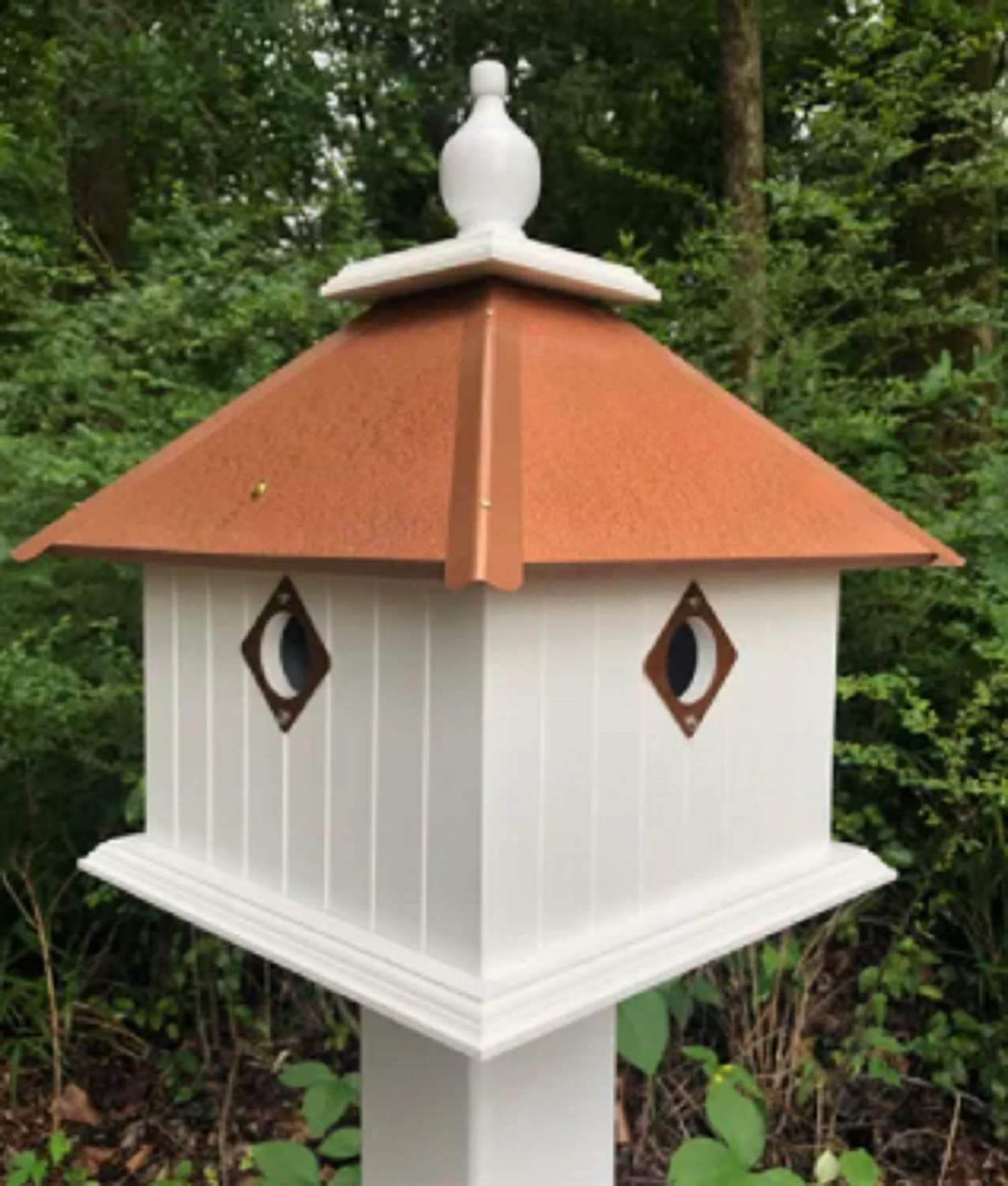 Pour Joy Bird House 2 Holes Handmade Weathe Made The Max 66% OFF in Discount is also underway of USA