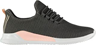 Fabric Womens Revel Run Ladies Trainers Shoes Sneakers Ankle Pull tab