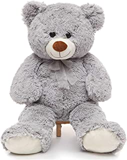 Toys Studio 36 inch Big Teddy Bear Cute Giant Stuffed Animals Soft Plush Bear for Girlfriend Kids, Grey