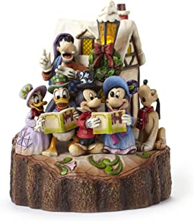 jim shore disney christmas figurines