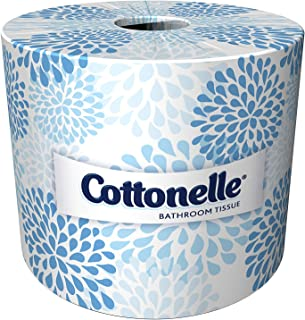 Cottonelle Professional Bulk Toilet Paper for Business (17713), 2-PLY, White, 60 Rolls/Case, 451 Sheets/Roll