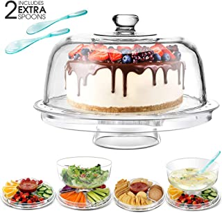Best vaseline glass cake plate Reviews