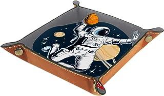 Vockgeng Basketball d'astronaute Boîte de Rangement Panier Organisateur de Bureau Plateau décoratif approprié pour Bureau ...