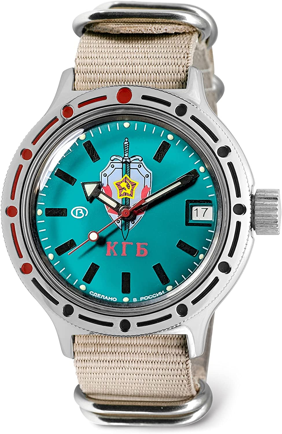 VOSTOK Men's KGB Ranking Max 68% OFF TOP11 USSR State Amphibian Committee Security Autom