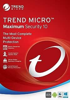 trend micro pc cillin maximum security