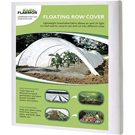 10Ft x 30Ft Reusable Floating Row Cover Kuopry Plant Covers Freeze Protection 0.89 oz//sq Freeze Protection Plant Blankets for Cold Weather Garden Winterize Cover for Winter Frost Protection