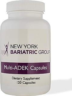 Multi - ADEK Capsules Multivitamin Dietary Supplement with Enhanced Absorption 120 Capsules