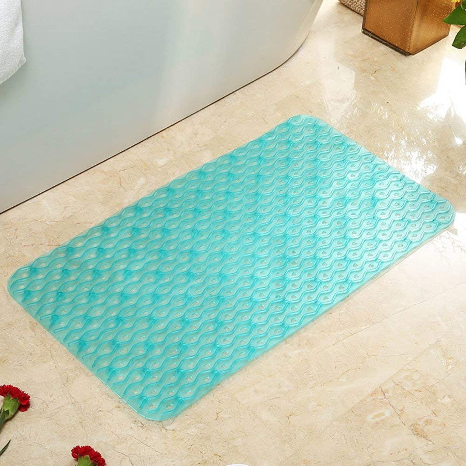 BDT Decorations - Carpet Floor Mats, Bathroom Non-Slip Absorbent Pad, Door Mat Foot Pad