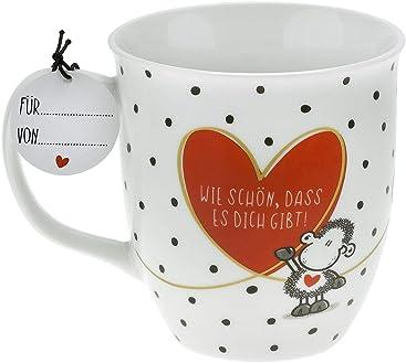 """Mama/"""" 0,4l Kaffee- Geschenk- Tasse /""""Löwen 46298 Sheepworld Muttertag"""