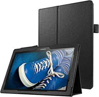 Protección Caja para Lenovo Tab 3 10 Pro Business A10-70 TB3-X70 F/L Pulgadas Smart Slim Case Book Cover Stand Flip (Negro) NUEVO