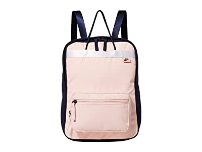 Nike Tanjun Premium Backpack (Blackened Blue/Echo Pink/University Red) Backpack Bags