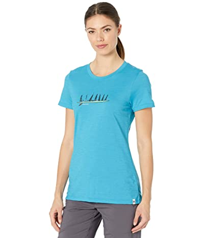 Smartwool Merino Sport 150 Camping with Friends Graphic Tee Women