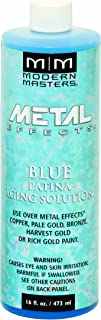 Modern Masters PA902-16 Aging Solutions Blue Patina, 16-Ounce
