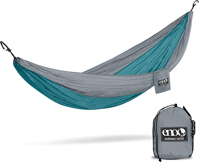 ENO, Eagles Nest Outfitters DoubleNest Lightweight Camping Hammock - Best for Camping