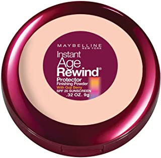 Maybelline New York Instant Age Rewind Protector Finishing Powder, Creamy Natural, 0.32 Ounce
