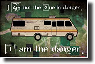 Breaking Bad - I Am The Danger - NEW TV Quote Poster