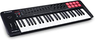 M-Audio Oxygen 49 (MKV) – 49 Key USB MIDI Keyboard Controller With Beat Pads, Smart Chord & Scale Modes, Arpeggiator and S...
