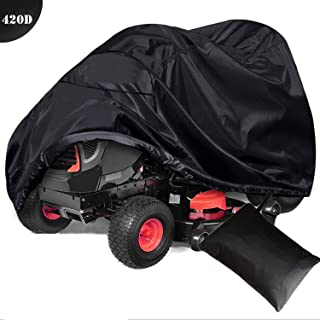 szblnsm Outdoors Lawn Mower Cover -Tractor Cover Fits Decks up to 54