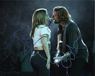 A Star is Born Lady Gaga and Bradley Cooper Signed Autographed 8x10 Photo Certified Authentic COA