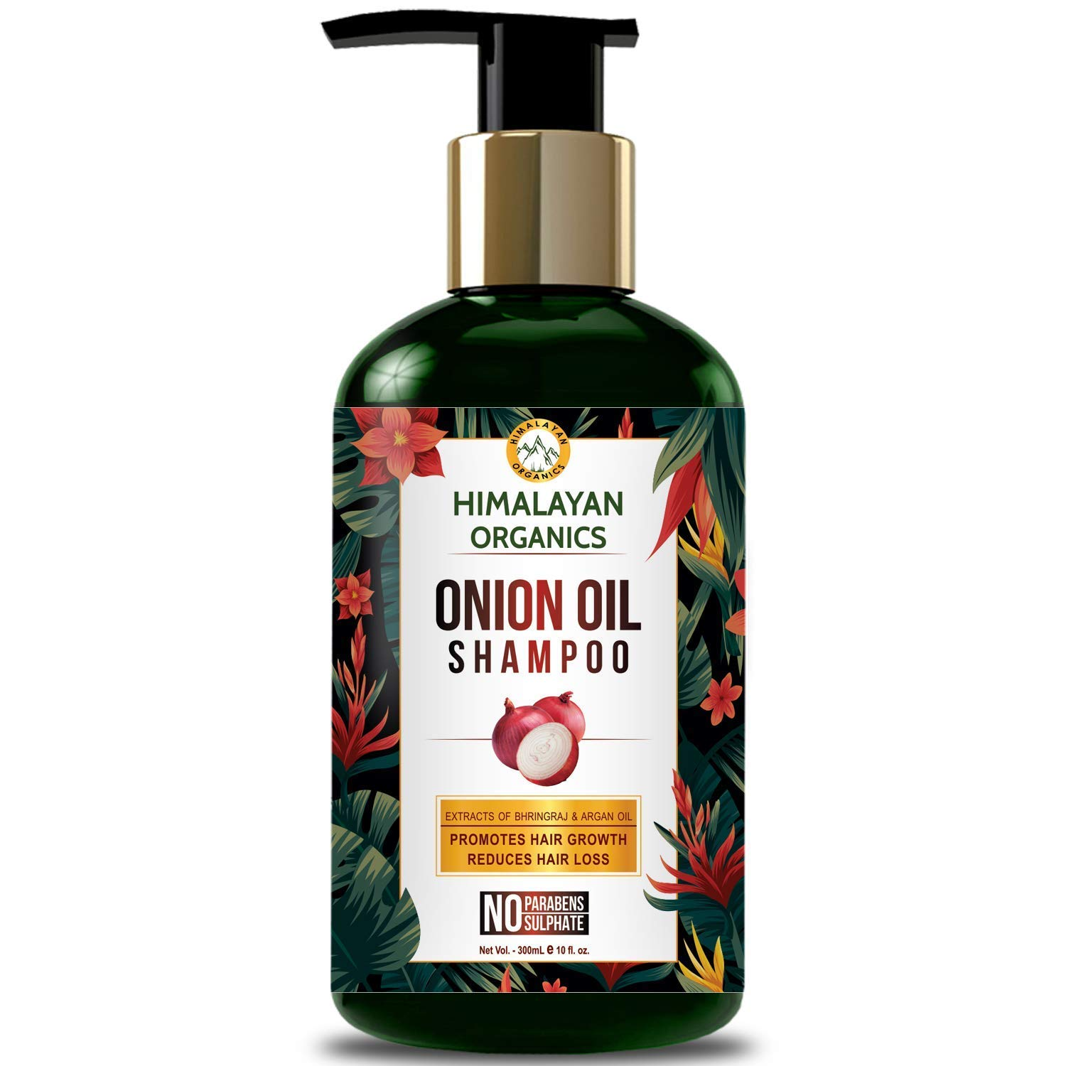 sold out Bellentines Dealing full price reduction Himalayan Organics Onion Oil Parabens No - Shampoo