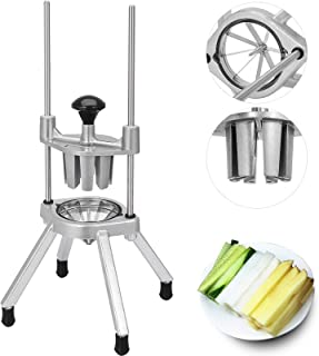 Happybuy Commercial Easy Wedger with 8 Sections Lemon Slicer Cutter 8 Wedger for Lemons Limes Tomatoes Potatoes