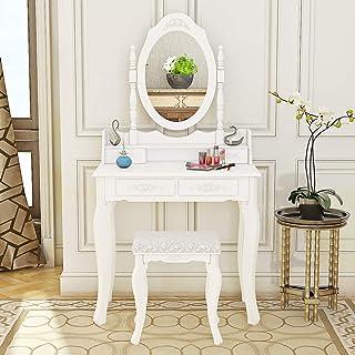 Generic Table de Coiffeuse /à Motif Floral