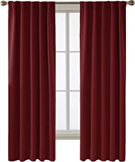 Best red bathroom curtains Reviews
