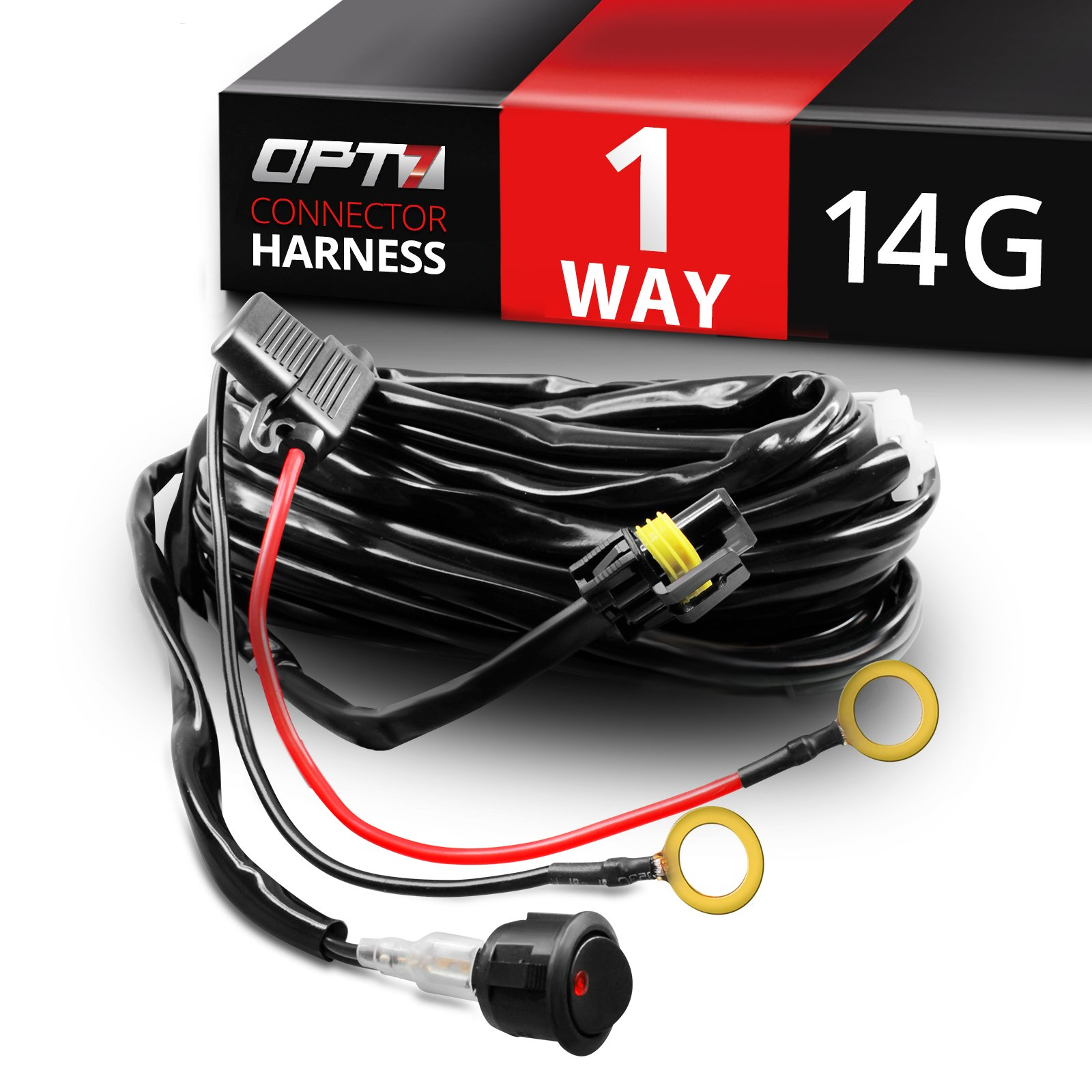 Light Bar Wiring Harness With Quick Connect - Wiring Block Diagram on