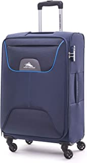 High Sierra Travel Pod Hardside Spinner Luggage 67cm with 3 digit Number Lock - Blue