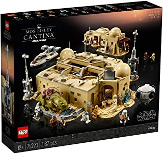 LEGO Star Wars 75290 Mos Eisley Cantina, Master Builder Series display model