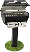 product image for Broilmaster P3-XF Premium Propane Gas Grill On Black In-Ground Post