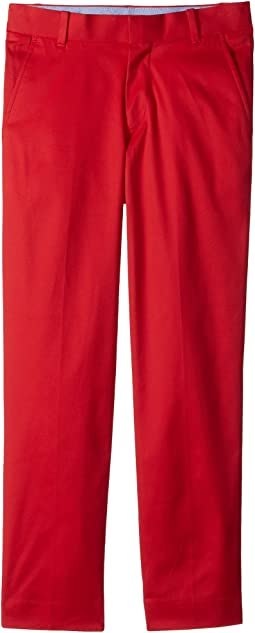 Tommy Hilfiger Kids Stretch Fine Twill Pants (Big Kids)