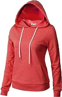 H2H Womens Casual Slim Fit Hoodie Long Sleeve of Various Colors & Styles
