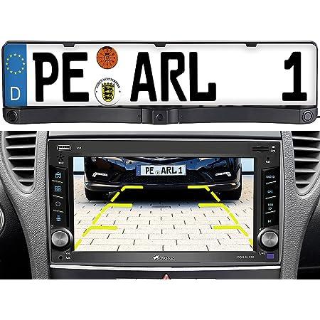 Lescars Kennzeichen Kamera Rückfahrkamera Elektronik