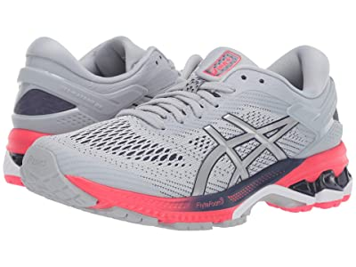 ASICS GEL-Kayano(r) 26 (Piedmont Grey/Silver) Women