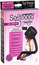 Bonnet Hood Hair Dryer Attachment Hair Flair Deluxe Softhood (Black)