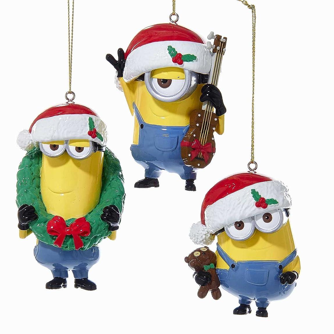 通知するモトリー花嫁ミニオンズ クリスマス デコレーション ケビン スチュアート ボブ Minion Christmas 並行輸入品