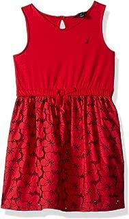 nautical red dress