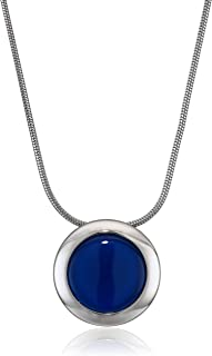 Skagen Women's Sea Glass Silver-Tone Necklace