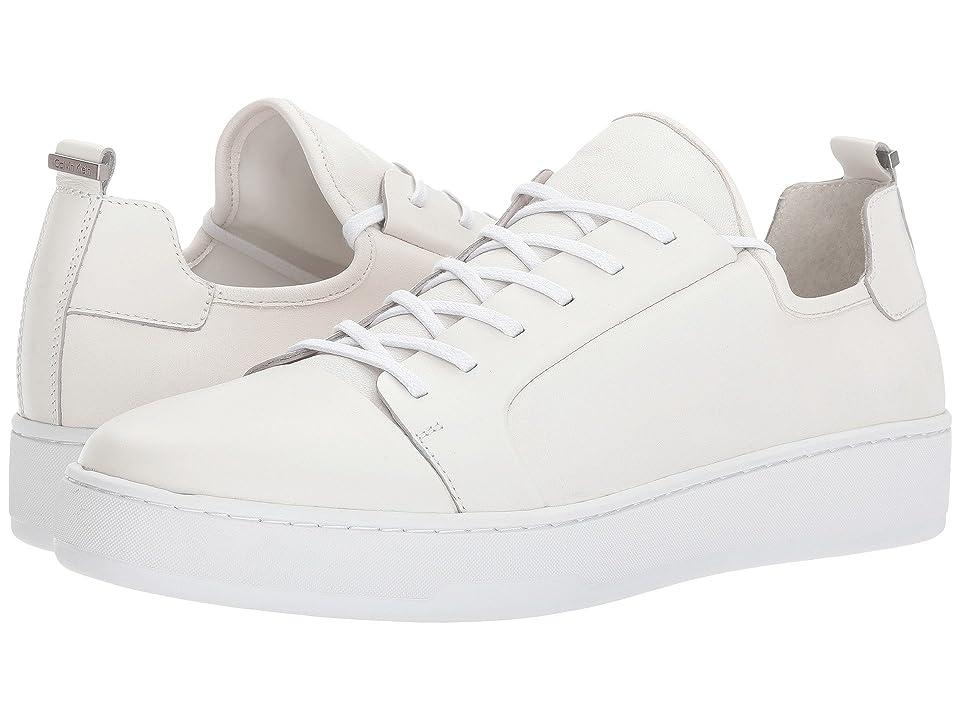 Calvin Klein Nayland (White Nappa) Men
