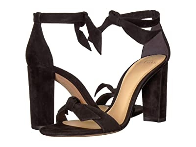Alexandre Birman Clarita Block 90 (Black Fabric) High Heels