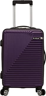 """Rockland Star Trail 20"""" ABS Carry On Spinner"""