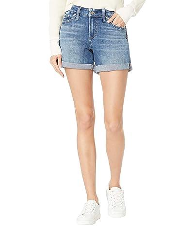 Silver Jeans Co. Boyfriend Mid-Rise Shorts L53608EPK254