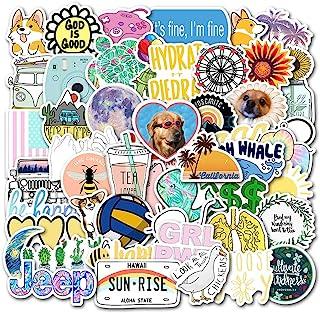 Laptop Stickers Decals 50 Pack for Water Bottles Skateboard iPad MacBook Phone Car Teens Girls Cute Stickers