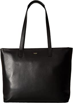 ef1bbc8c7c Knomo london mayfair grosvenor place expandable top zip tote ...