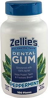 Zellies Peppermint Gum, 100 Count Jar